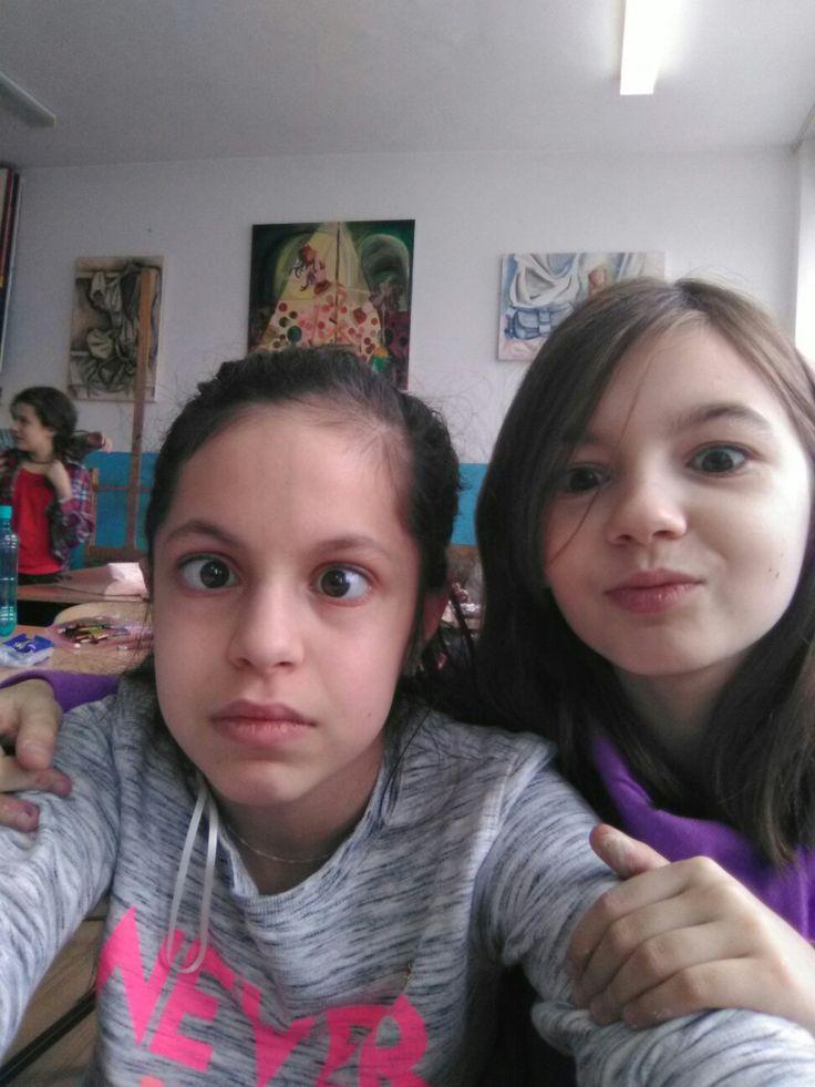 Eu cu prietena mea.(Bițu)