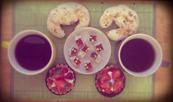 Сладкий завтрак)))