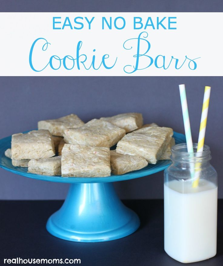 EASY NO BAKE Cookie Bars are an incredible dessert that are not only simple to make, but use three ingredients, and come together really quickly. They are super addictive and kids and adults will LOVE them!