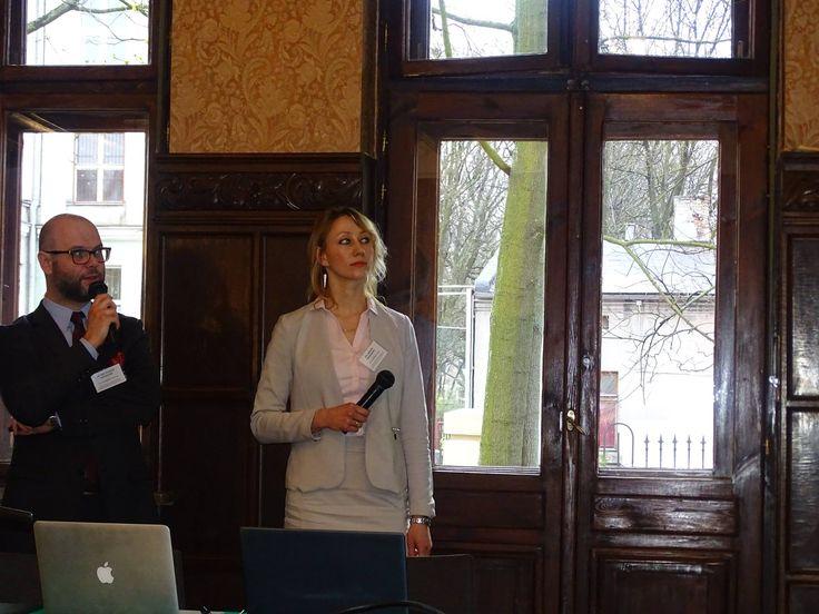 #Adwokat Agnieszka Kapała-Sokalska podczas konferencji w Łodzi. #łódź #lodz #zapytajadwokata