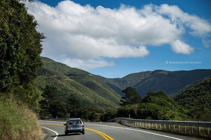driving through Rimutaka Hills