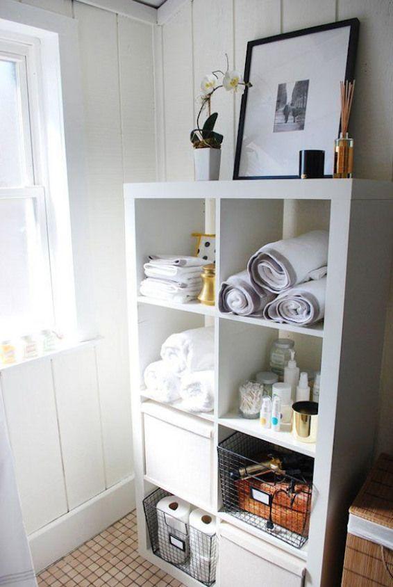 Kallax Regal Ideen Badezimmer