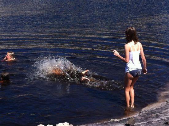 Table Mountain Swim