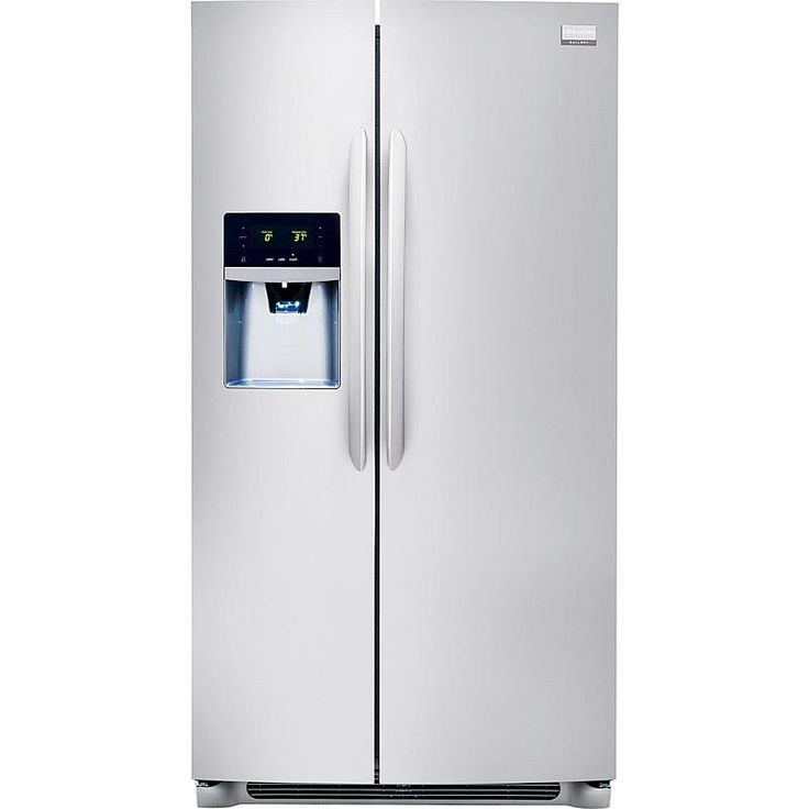 Frigidaire Gallery 25.6 cu. ft. Gallery Side-by-Side Refrigerator - Stainless Steel : sears outlet $900 with delivery