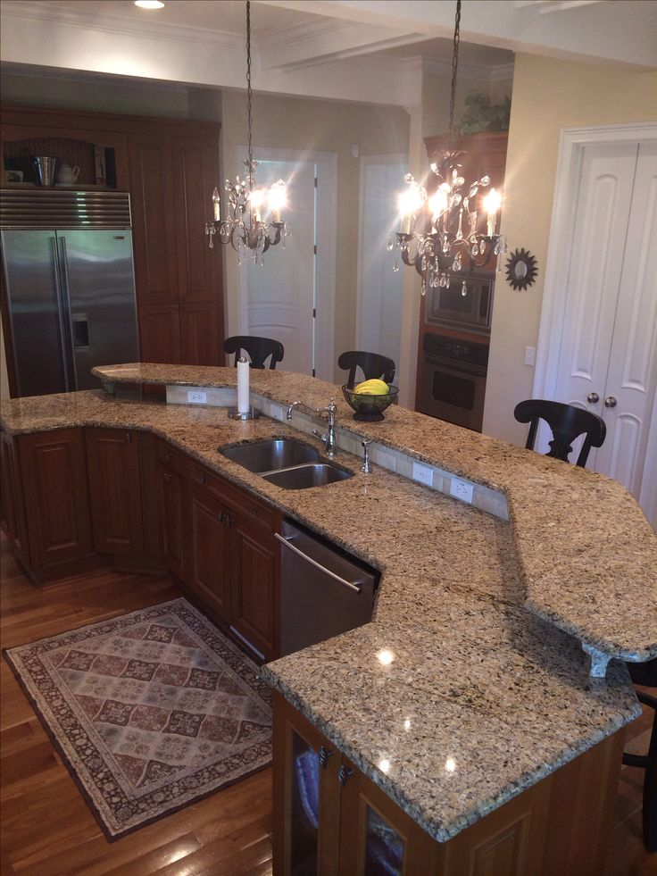 Best 25 Custom Kitchen Islands Ideas On Pinterest  Large Kitchen Interesting Custom Design Kitchen Review