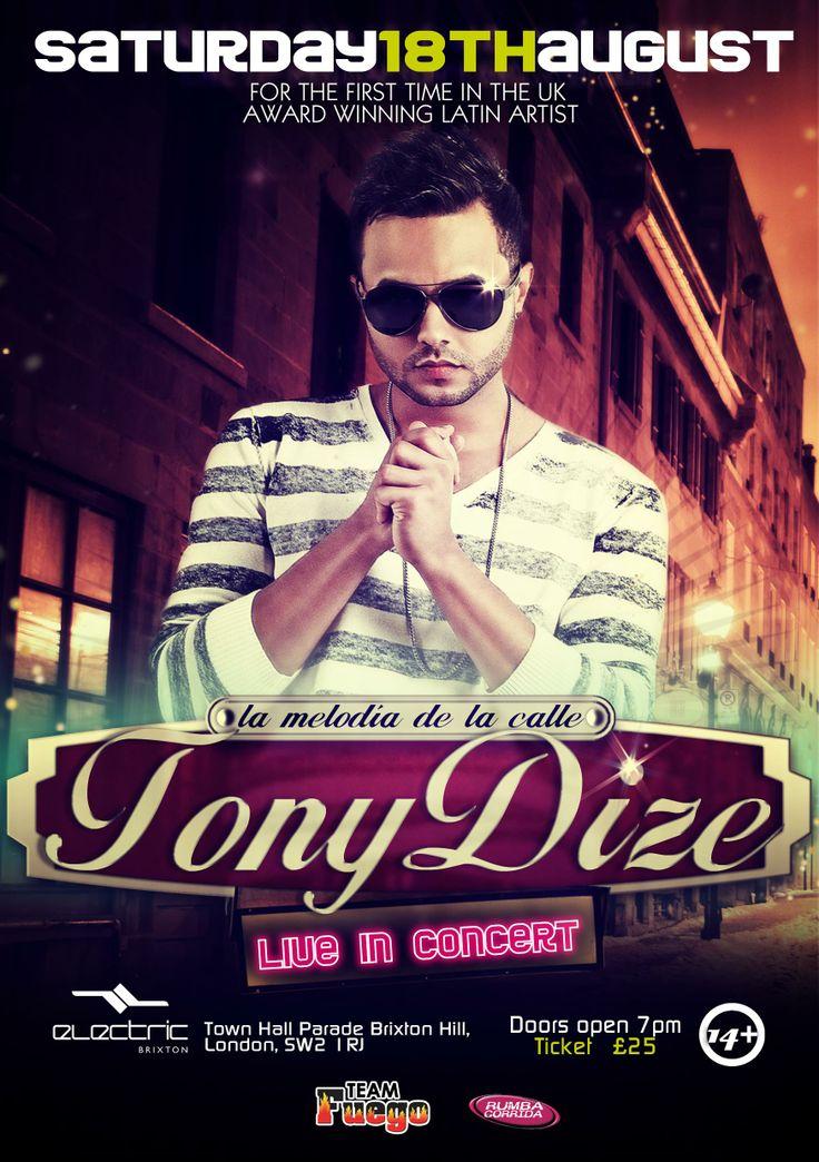 Flyer_London_Tony_Dize