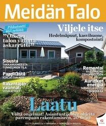 Meidän Talo -lehden mukana saat nyt sammutuspeitteen. Tämmöinen kannattaa jokaisessa talossa varalta olla :)
