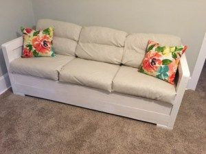 """A """"New"""" Loveseat for Staging! - sledgehammerqueen"""