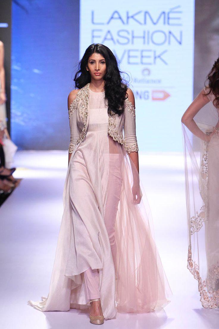 Anushree Reddy | Lakmé Fashion Week Winter/Festive 2015 #PM #Indiancouture