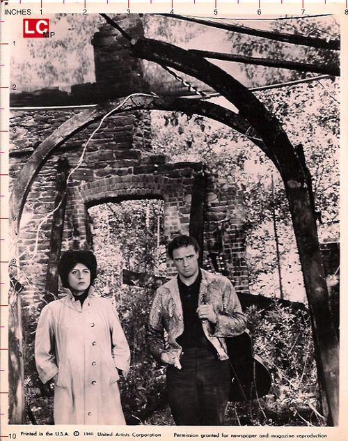 #Sixties | Anna Magnani and Marlon Brando in The Fugitive Kind, 1960