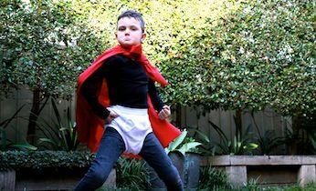 Outline undies in black sharpie! Easy Costume: Captain Underpants | Dress Up Games | Book Week