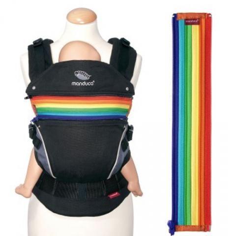 #MANDUCA, вставка на молнии ZipIn «Радуга» - можно увеличить и украсить любой рюкзак Мандукка