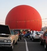Orange Julep Gibeau: A Montreal Favorite: Orange Julep. Where hot dogs and hot rods converge.