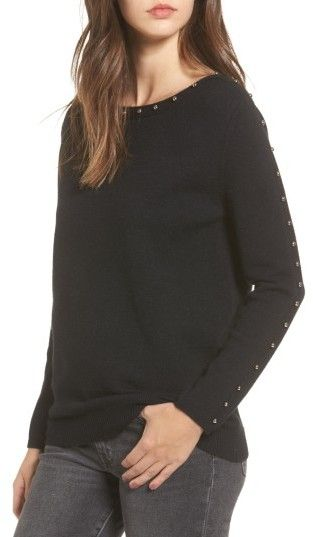 Women's Dreamers By Debut Studded Sweater