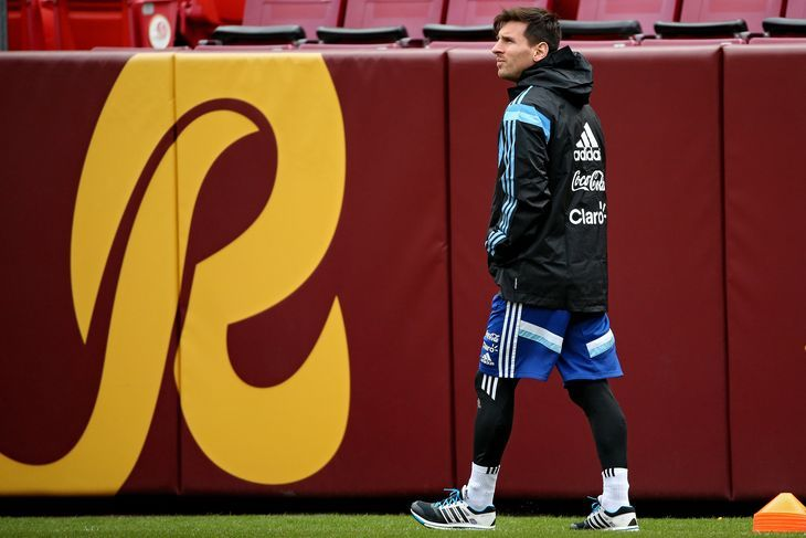 Lionel Messi-injury