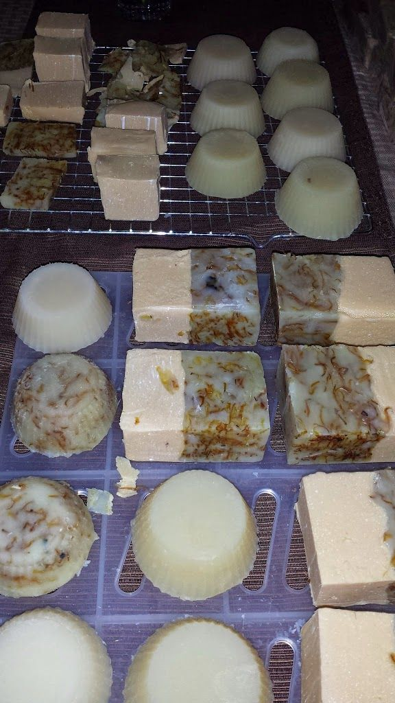 How to make cold process soap!