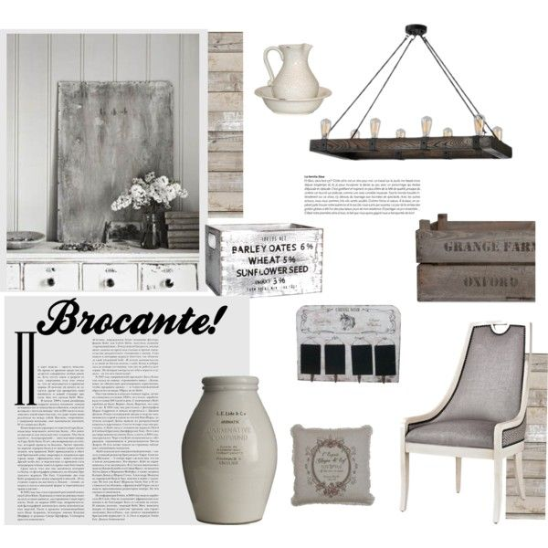 """Brocante"" by gelykou on Polyvore"