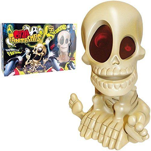 IMC Toys cazafantasmas (43-7574) por 41,49 €  Dispara a los #fantasmas. Juega a oscuras con un compañero. Quien haya disparado a más #fantasmas al final del juego gana. Incluye un esqueleto proyector y 2 pistolas.  #compras #juguetes #regalos #chollos
