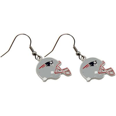 New England Patriots Logo Wire Earrings