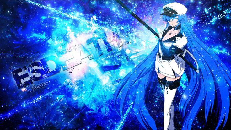 Anime Akame Ga Kill!  Esdeath (Akame Ga Kill!) Wallpaper