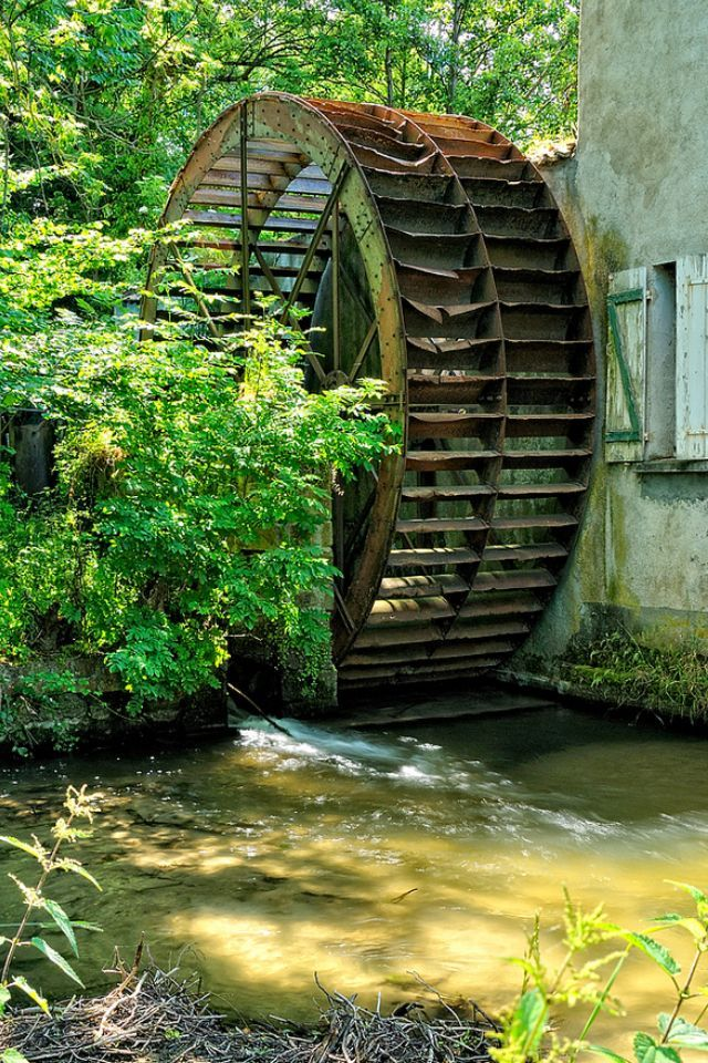 Water Mill, Auverne, France