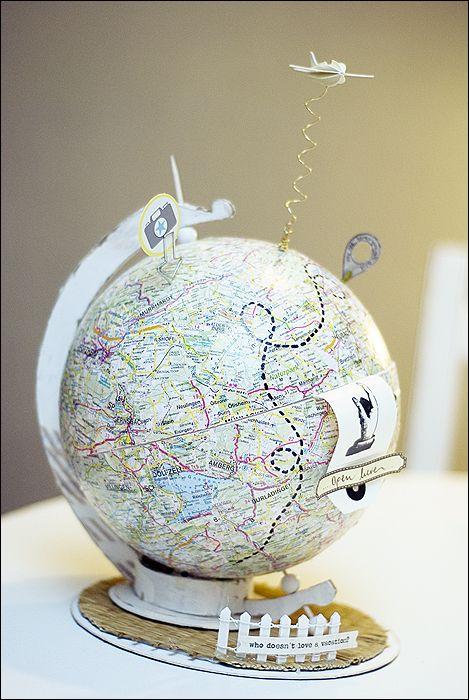 globus - hochzeitsgeldgeschenk  Wedding  Pinterest  Kreativ, Design ...