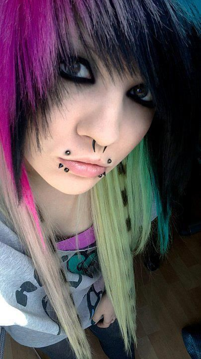 Nice but a little over kill on the mouth piercings (just my opinion)
