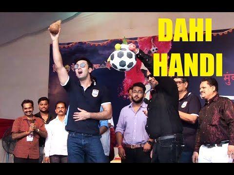 Ranbir Kapoor At Mumbai City Football Club Dahi Handi Utsav 2016.