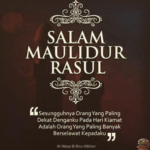 Salam Maulidur Rasul buat semua ummat Islam... Jom berselawat... by healthandbeautyparlour