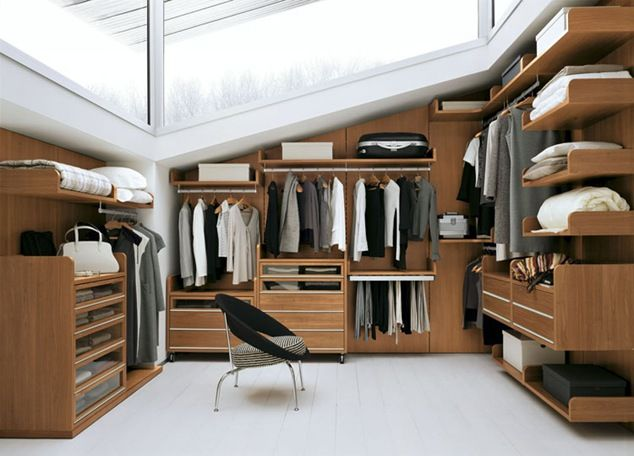A mans closet...!
