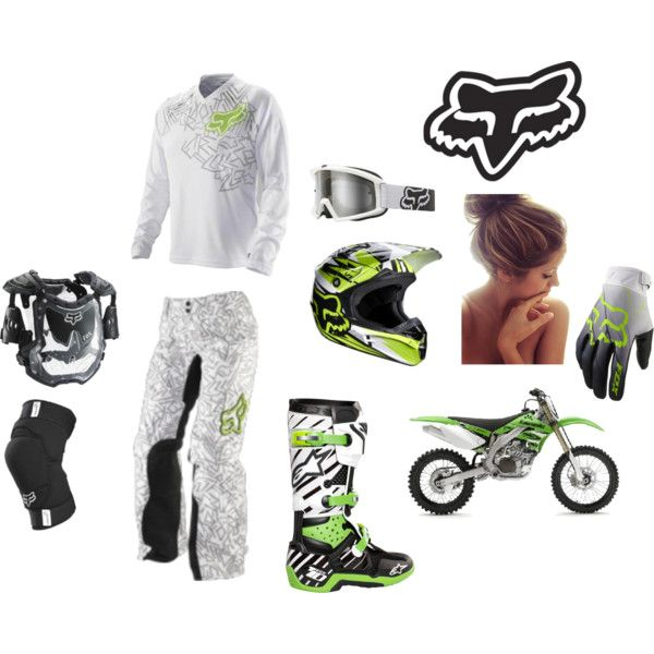 motocross; love the color if the gear