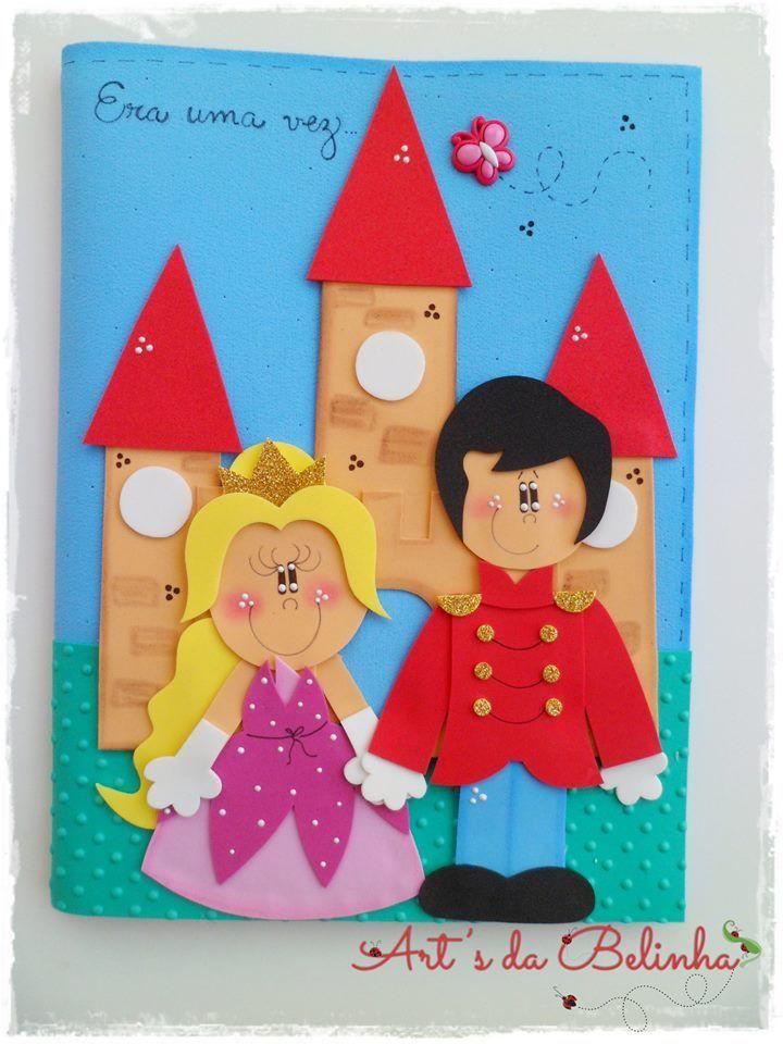 Oi gente!!!! Mais novidades!!!!     Olha que lindo essa decoração para sala de aula feito em e.v.a. com o tema: Príncipes e Princesas!!...
