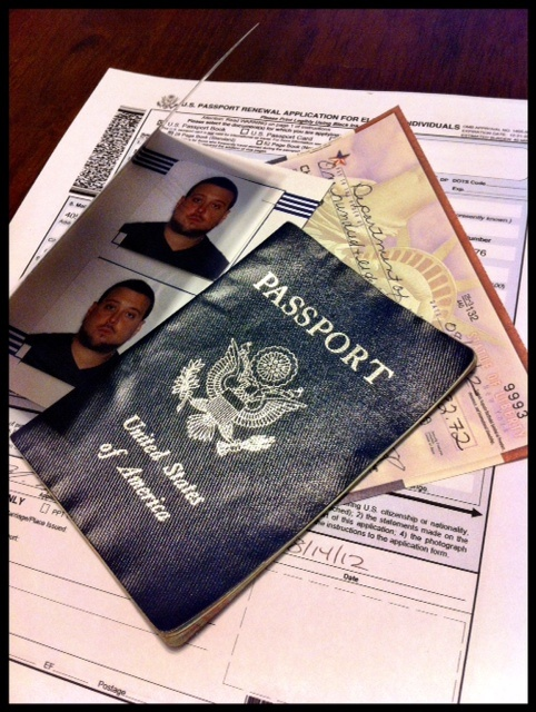 passport renewal form oregon