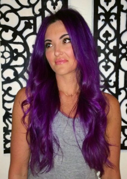 unique hair color styles purple hair 2014 hair color katy perry hair neon 8971