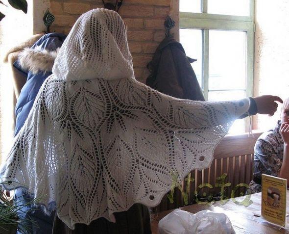 Необычные шали спицами. / Вязание спицами / Вязание для женщин спицами. Схемы вязания спицами