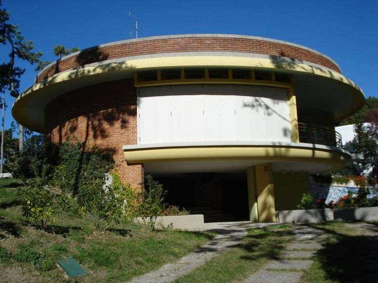 1954. Villa Mainardis a Lignano Pineta (UD). - arch. Marcello D'Olivo