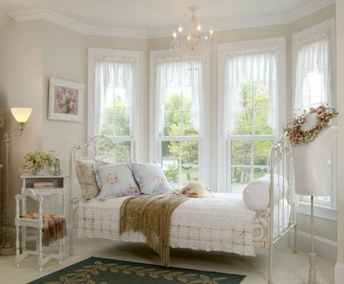 Dream bed room: Guest Room, Decor, Idea, Sweet, Shabby Chic, Dream, House, Bedrooms