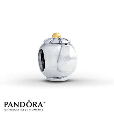 To represent Beauty and the Beast, my all time favorite Princess story! Pandora Teapot Charm