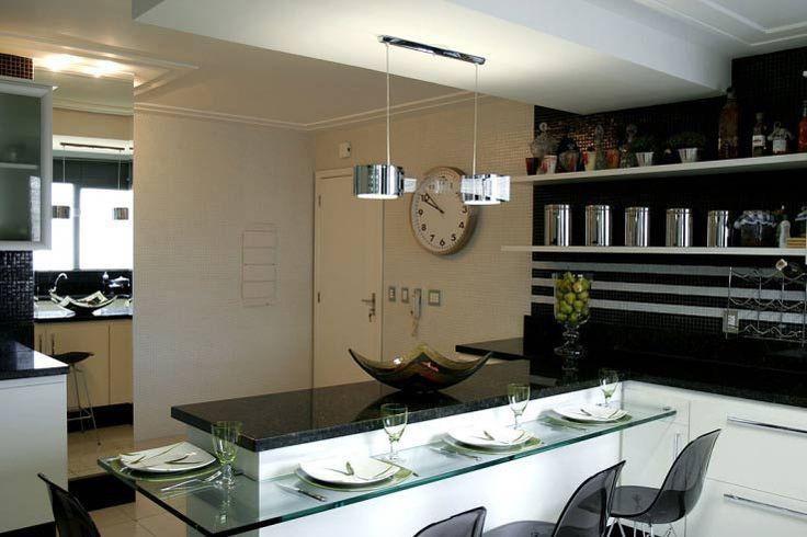 cozinha com ilha de alvenaria - Pesquisa Google