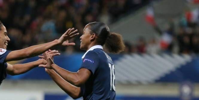 Foot - Bleues - Marie-Laure Delie a marqué «un but important»