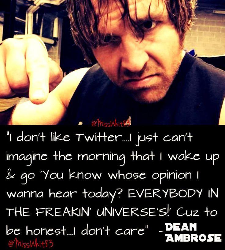 #DeanAmbrose #AmbroseAsylum #LunaticFringe