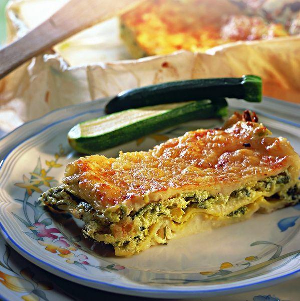 Lasagnes aux courgettes et chèvre Recette | Weight Watchers