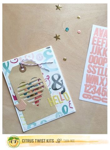 Tuesday Tutorial with Tara Rice - using the Fuse to make shaker cards