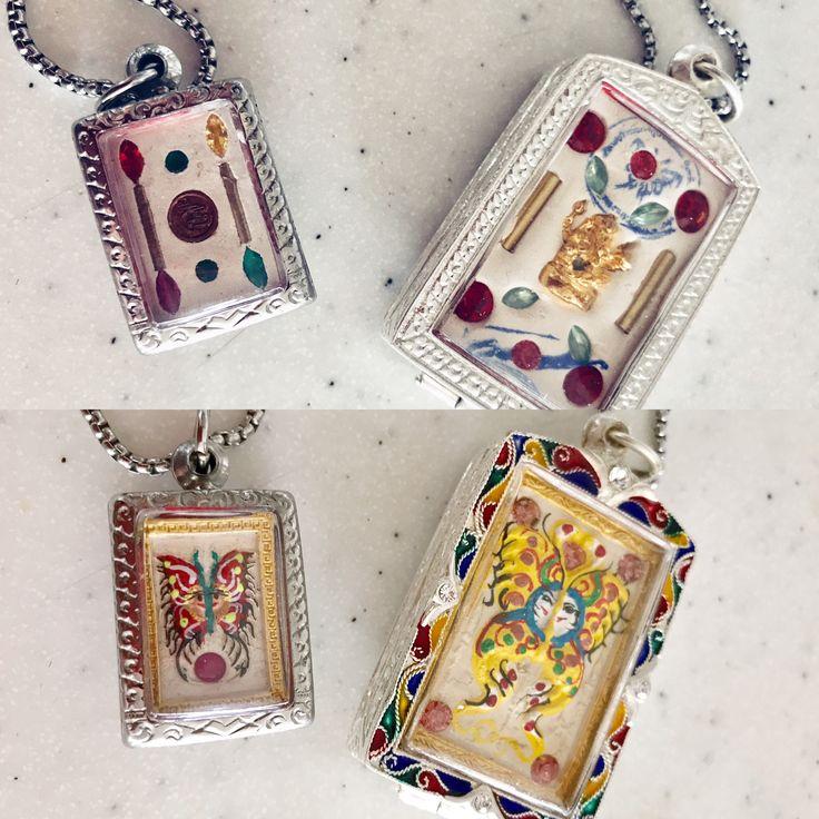 Thai Amulet Butterfly | Kruba Krissana Dream Butterfly