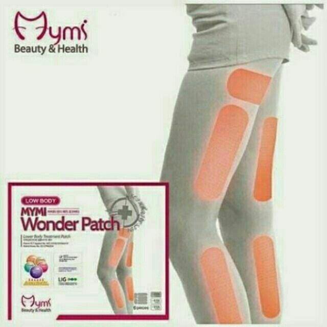 ขาย Mymi Wonder Patch แผ่นแปะสลายไขมัน น่อง ขาเล็ก ขาเรียวมั่นใจ ในราคา ฿120 ซื้อได้ที่ Shopee ตอนนี้เลย!http://shopee.co.th/beautyrunway/2514015  #ShopeeTH