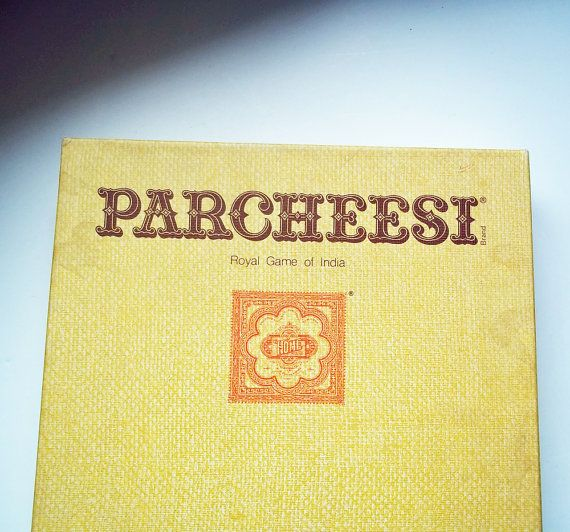 Vintage Parcheesi Board Game - 1975 - Selchow & Righter Company - Royal Game of India - Complete Parcheesi Game - Ready to Play - Game Night