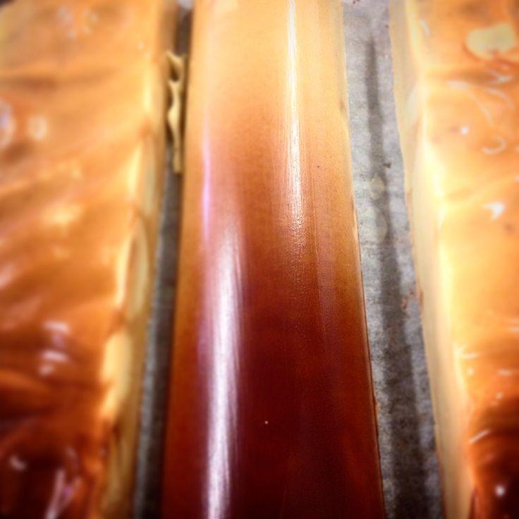 #turron de #platano .#practicas de #panaderia