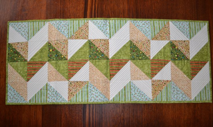 Nancy Halvorsen Fabrics - trying out the design with blue