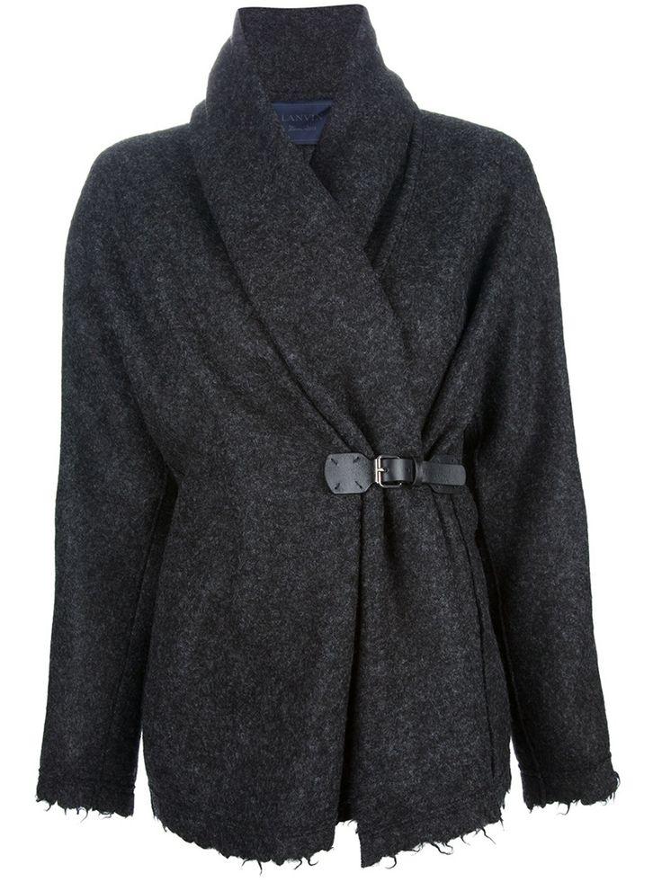 LANVIN strap fastening cardigan