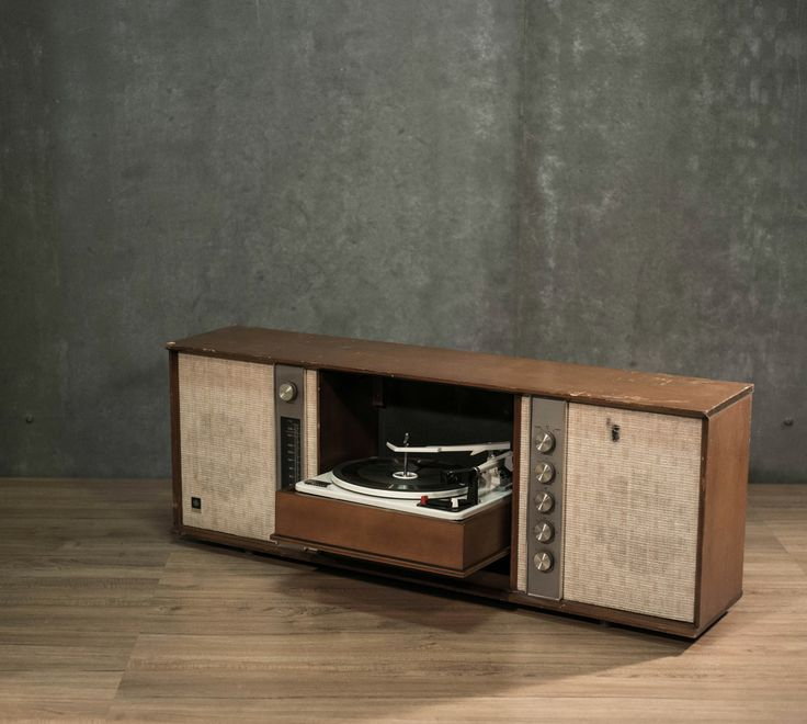 8 Best Images About Vintage Record Players Cabinet On